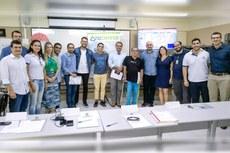 Alunos do Curso de Plano de Negócios realizaram a apresentação do pitch.