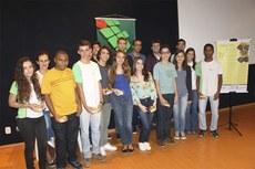 Os estudantes foram homenageados durante o II Encontro Estadual PIC-Obmep, no Campus Campos Guarus.