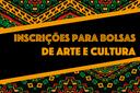 Estudantes podem se candidatar a bolsas de Projetos Culturais