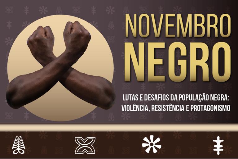 "Evento ""Novembro Negro"", do IFF, começa nesta segunda-feira, 16"