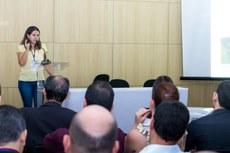 Foram apresentados projetos da temática Currículos e Metodologias de Ensino (Foto: Breno Menezes - Ifap)