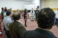 Servidores apresentaram projetos de sucesso desenvolvidos em seus institutos (Fotos: Érica Signorelli - Ifes)