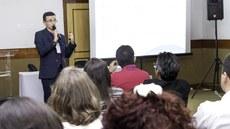Melhorar a gestão do ensino foi objetivo principal de sessão da Mostra de Experiências Exitosas. (Foto: Breno Menezes - IFAP)