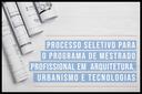 IFF abre inscrições para novo Mestrado em Arquitetura, Urbanismo e Tecnologias