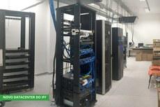 O novo Centro de Dados do IFFluminense está em funcionamento na Reitoria desde fevereiro deste ano (Foto: Divulgação)