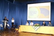 Pró-reitor Vicente de Oliveira destaca importância da parceria com a Smece durante abertura do evento