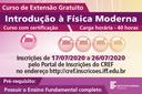 IFF oferta curso de extensão gratuito de Introdução à Física Moderna