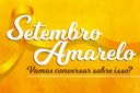IFF promove live sobre a Campanha Setembro Amarelo