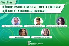 IFF realiza webinar sobre atendimento aos estudantes em tempo de pandemia