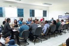 Colégio de Dirigentes se reuniu nesta segunda, 16, na Reitoria do IFF (Fotos: Mayhara Barcelos)