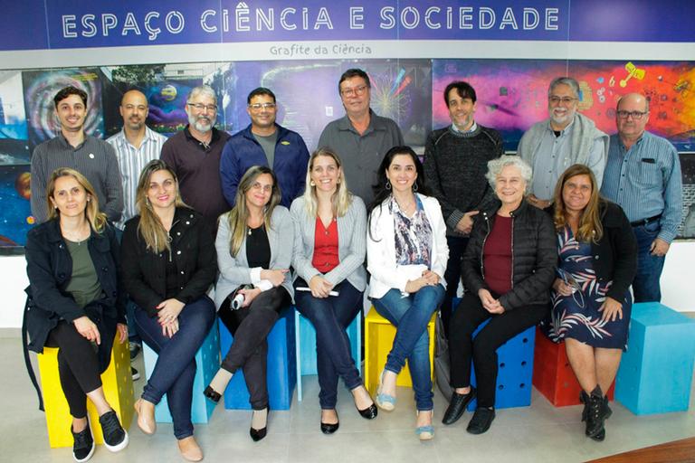 IFFluminense participa de encontro com Centro Brasileiro de Pesquisas Físicas