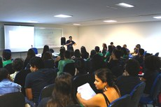 Encontro contou com a participação de empresas juniores do IFF, Uenf, UFRJ e Isecensa