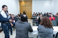 Trabalhos que promovem a cultura da inovação foram apresentados. (Foto: Alexandre Willian - IFF)