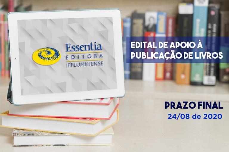 Inscrição para apoio à publicação de livros encerra no dia 24
