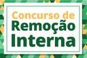 Inscrições abertas para Concurso de Remoção Interna