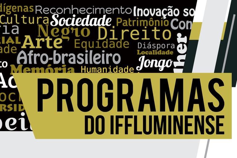Inscrições para bolsas dos Programas de Diversidade do IFFluminense