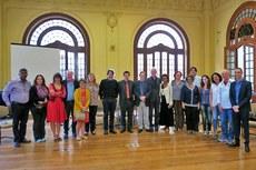O pró-reitor de Pesquisa, Extensão e Inovação, Vicente de oliveira, representou o IFF na primeira reunião do Fórum