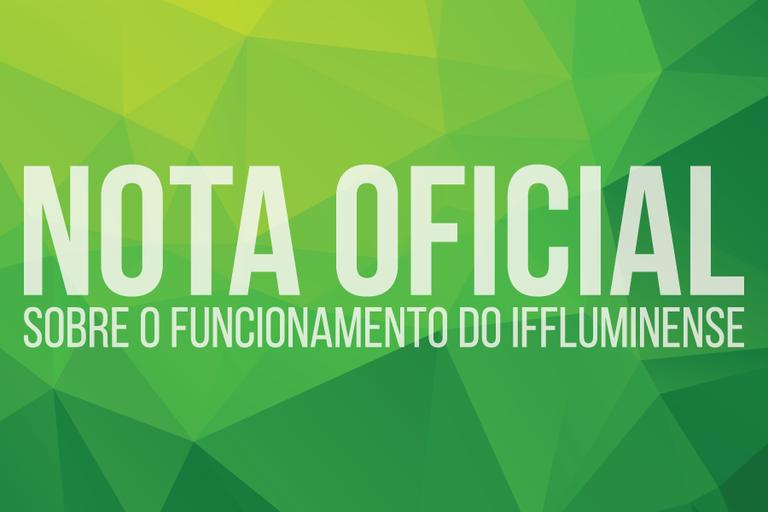 Instituto Federal Fluminense suspende atividades letivas de segunda-feira