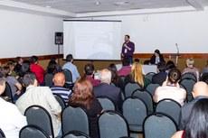 Servidores apresentam Experiências Exitosas da temática Gestão de Pessoas/Administração (Fotos: Rodrigo Fonseca - IFAM)