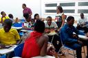 IFG promove o ensino da Língua Portuguesa para um grupo de pessoas nascidas no Haiti.