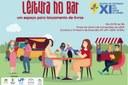 """""""Leitura no Bar"""" será nesta quarta-feira, 23 de outubro, na XI Mostra de Extensão"""