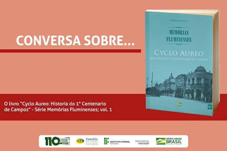 Livro sobre primeiro centenário de Campos dos Goytacazes será lançado na Mostra de Extensão
