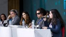 Debate ressaltou a importância do fortalecimento das políticas de inclusão na Rede Federal (Fotos: Alexandre Willian - IFF)