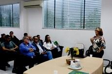Professora Giselle Rôças (IFRJ) falou sobre os desafios da pesquisa e pós-graduação nos Institutos Federais