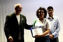 Jady foi uma das estudantes com trabalho premiado.