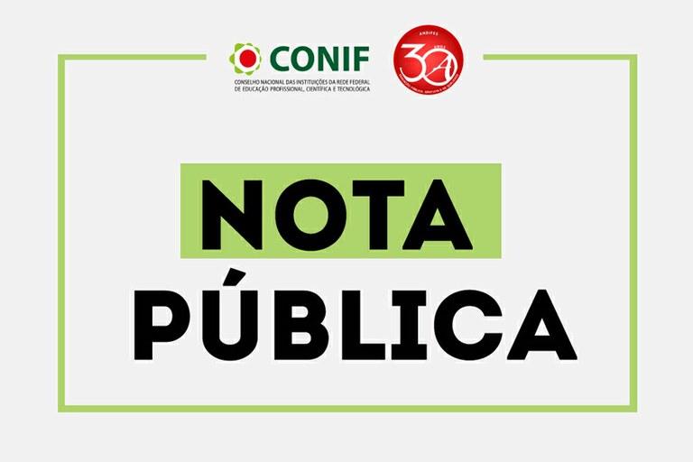 NOTA PÚBLICA CONJUNTA SOBRE A NOMEAÇÃO DE DIRIGENTES ELEITOS
