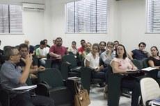 Representantes dos segmentos discente, docente e técnico-administrativo de oito campi tomaram posse no Cenpei