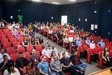 Após a assinatura do termo de posse, os servidores participaram do Seminário de Integração