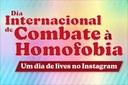 Nugedis do IFF realizam um dia de lives no Instagram pelo Combate à Homofobia
