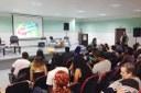 Kátia Macabu apresentou o Plano para a comunidade de Pádua