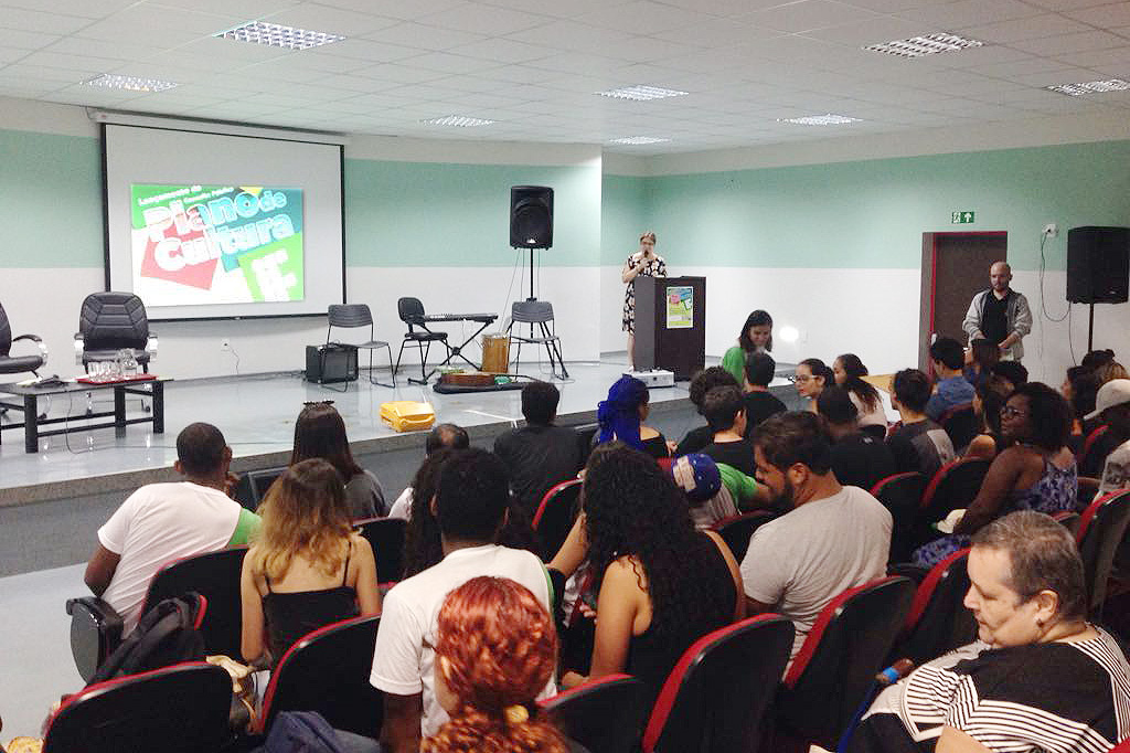 Consulta ao Plano de Cultura do IFF é lançado no Campus Santo Antônio de Pádua