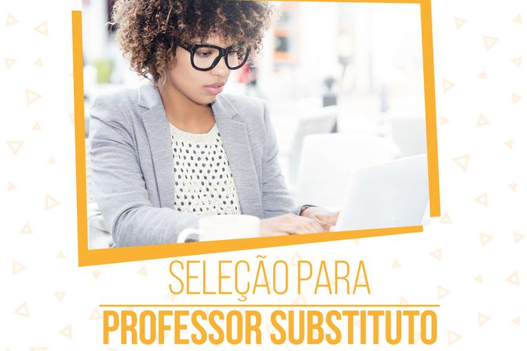 Prazo final de inscrição para Professor Substituto no IFFluminense