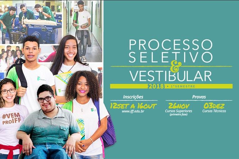 Processo Seletivo e Vestibular 2018