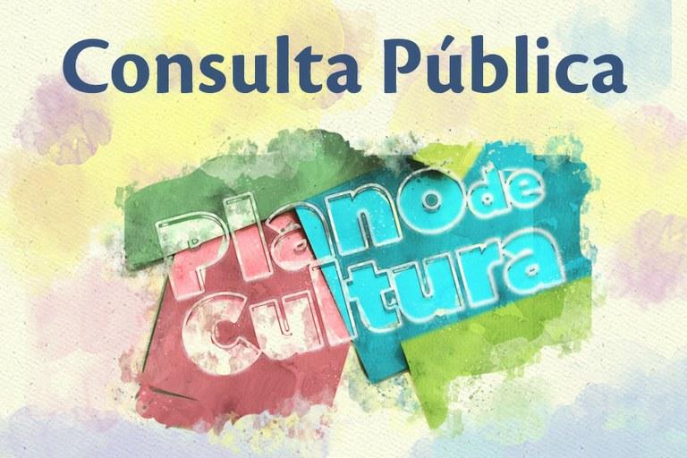 Consulta Pública Plano de Cultura