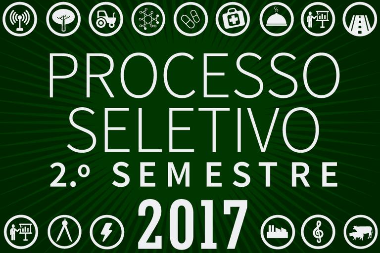 Processo Seletivo 201/2º semestre