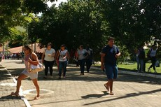 Candidatos fizeram a prova no Campus Macaé.