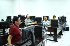 """Programa """"A arte de aposentar"""" oferece aula de Informática na Reitoria"""