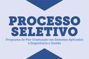 Prorrogado o prazo para entrega de documentação do Mestrado Saeg