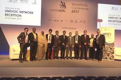 Líderes da indústria, governos, organizações internacionais e academia reunidos na WorldSkills 2017