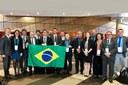 Delegação do Conif participa do evento.
