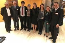 Representantes de instituições brasileiras participaram do lançamento do programa.