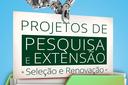 Resultado Final da seleção dos projetos de Pesquisa e de Extensão