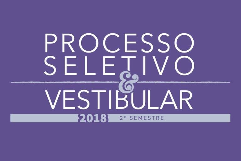 Resultado Final do Concurso Vestibular 2018