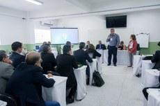 Durante a reunião foram apresentadas propostas de parcerias internacionais (Fotos:  Érica Signorelli - Ifes)