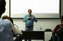 Debate teve a participação do professor Roberto Leher, ex-reitor da UFRJ.