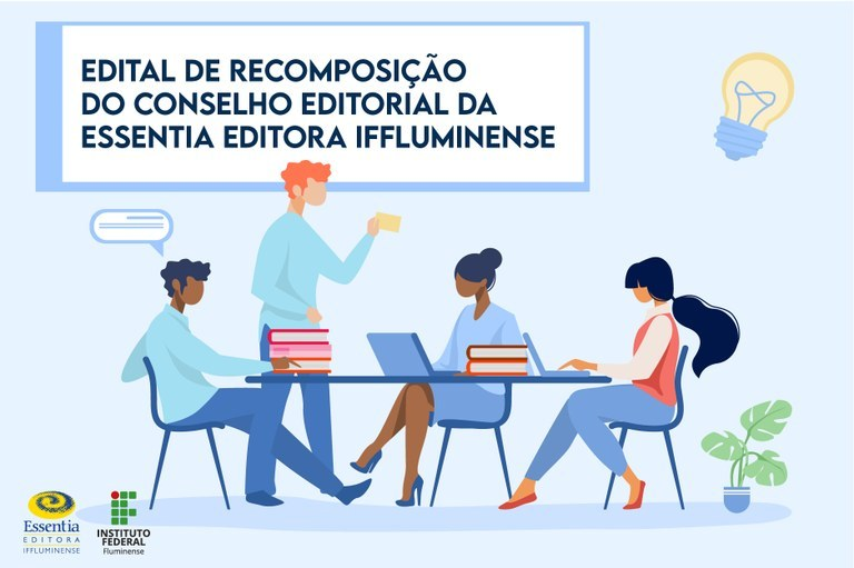 Servidores do IFF podem se candidatar ao Conselho Editorial da Essentia até o dia 29 de junho